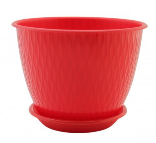 Рэйн Красный 2.4 литра -  горшок с поддоном.