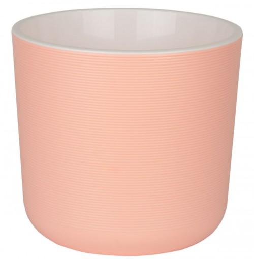 Лион 2 литра Розовый горшок с вкладкой