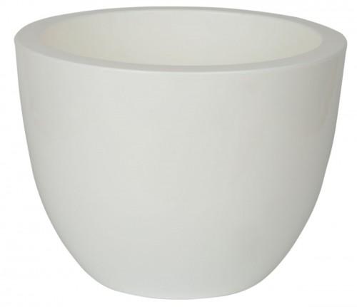 Орион Белый 17 -  горшок с вкладкой