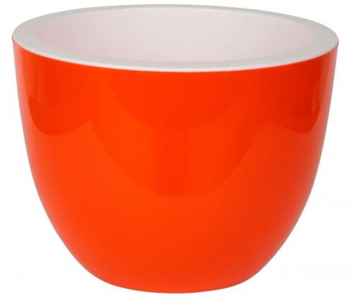 Орион Оранжевый 17 -  горшок с вкладкой