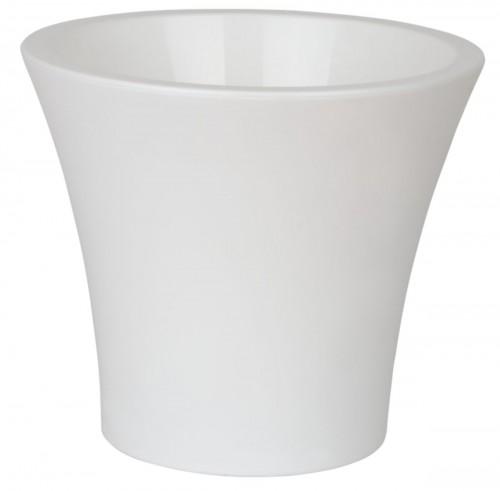 Сити Белый 2.3 литра -  горшок с вкладкой.