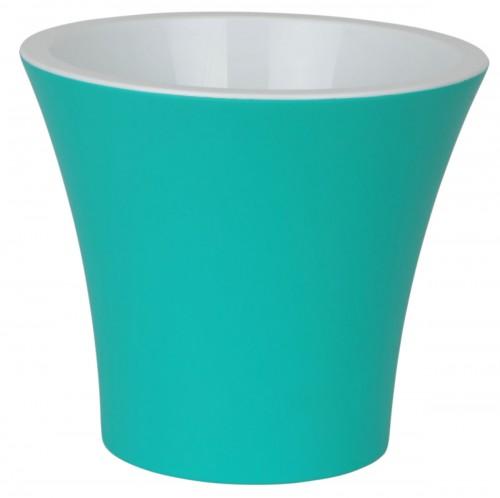 Сити Бирюза 2.3 литра -  горшок с вкладкой.