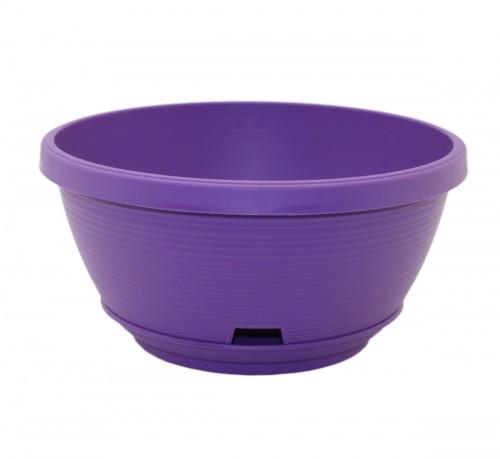 Марсель 2.7 Фиолетовый горшок с поддоном