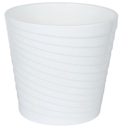 Эйс Белый  3.8л - кашпо с вкладкой