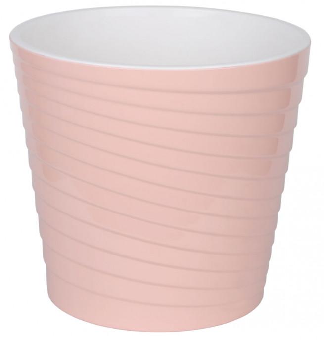 Эйс Розовый  3.8л - кашпо с вкладкой