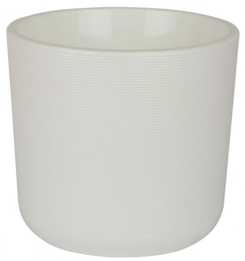 Лион 5.65 литра Белый горшок с вкладкой