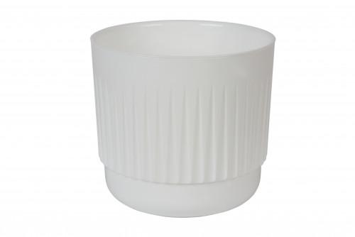 Бета  Белый 1,4 литра горшок с вкладкой